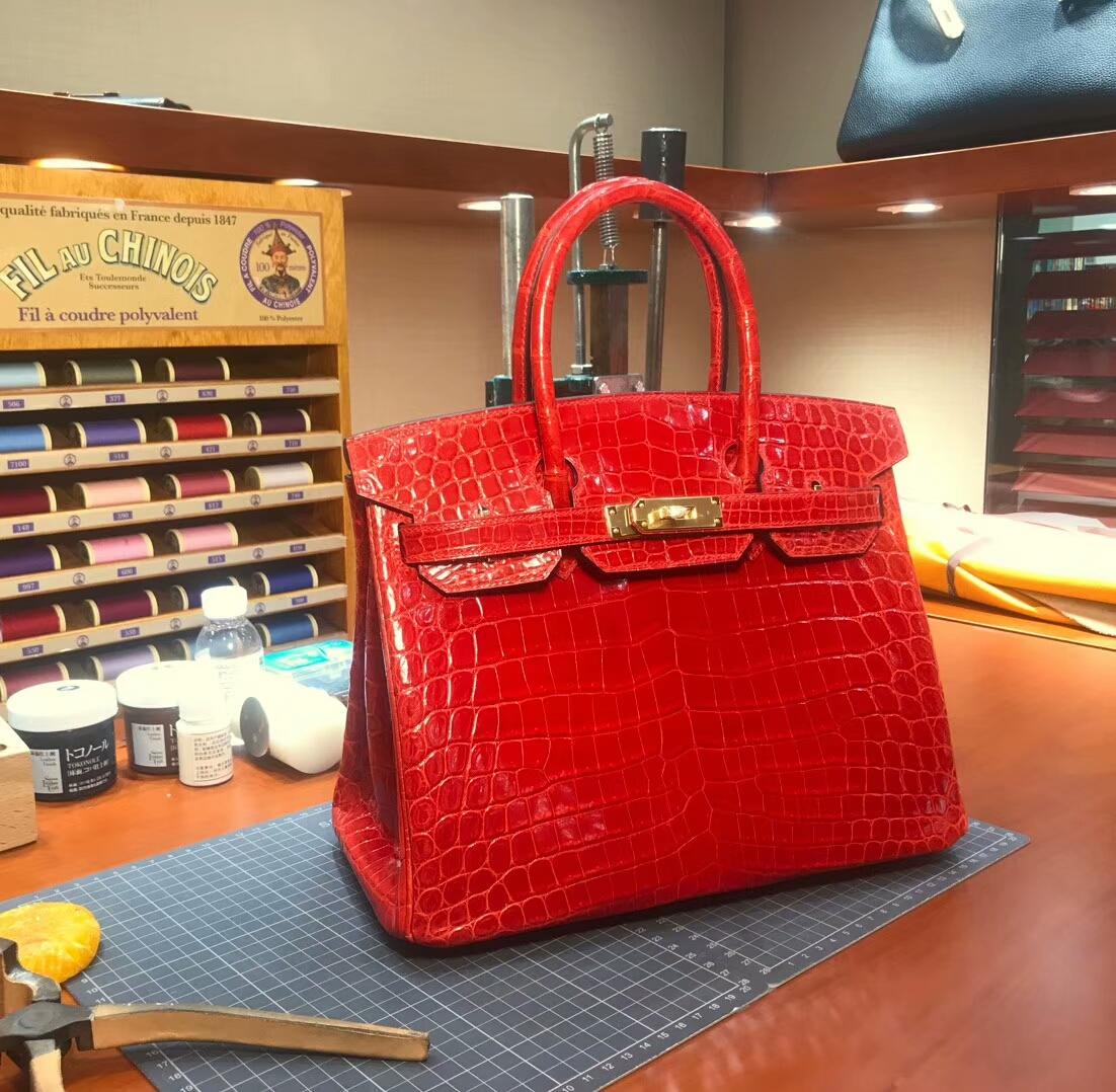 S5 番茄红 Rouge Tomate 爱马仕 HERMES 铂金包 Birkin 配全套专柜原版包装 全球发售