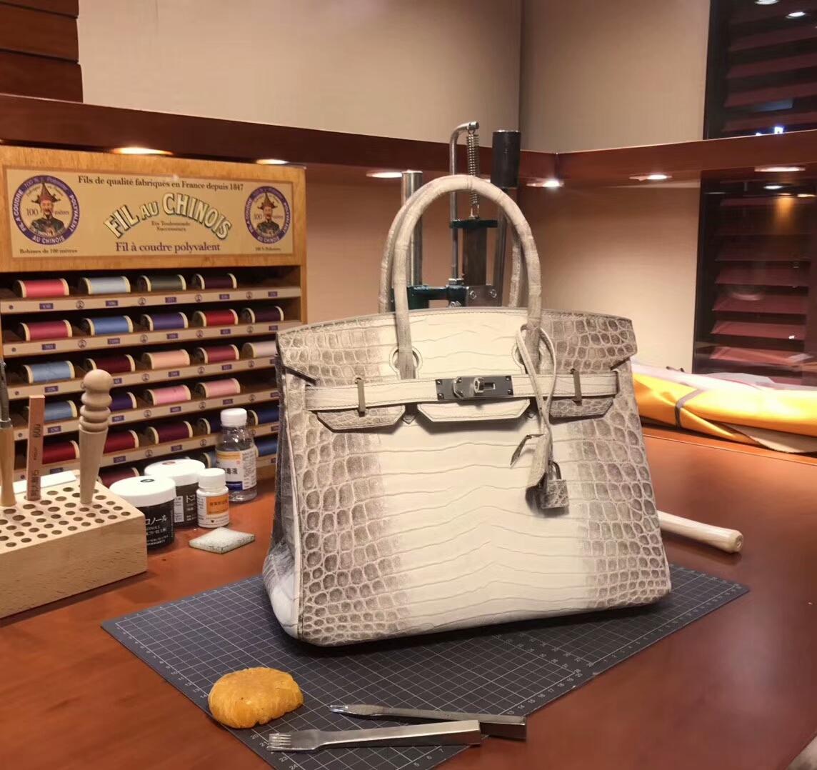 爱马仕 HERMES 铂金包 Birkin 配全套专柜原版包装 全球发售 喜马拉雅