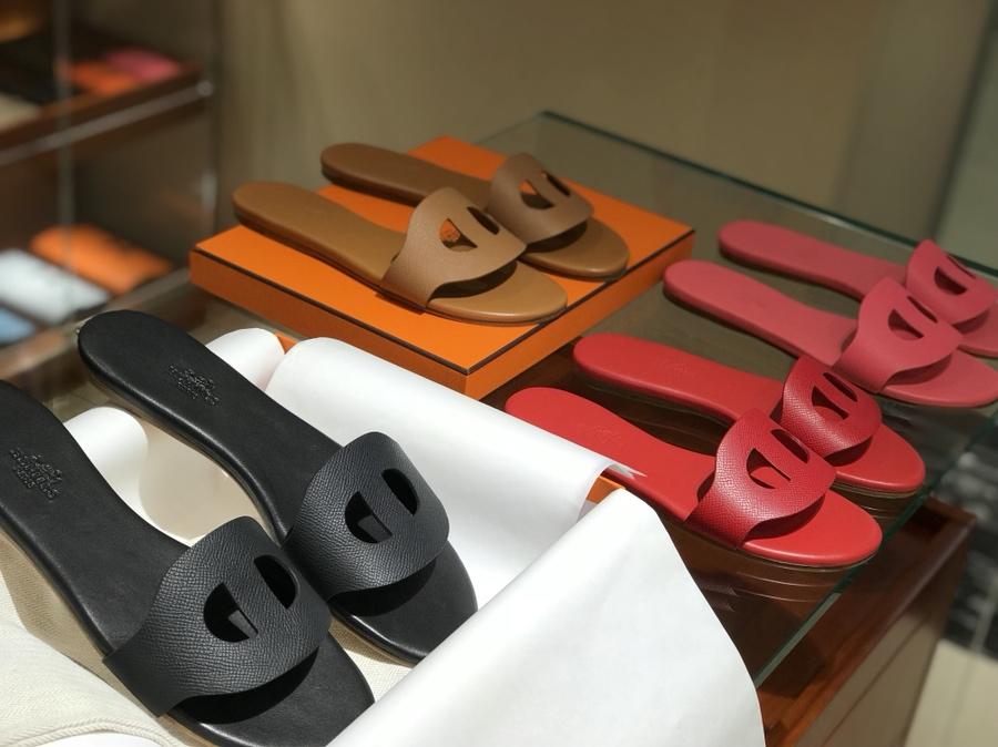 猪鼻子拖鞋高端订制独家品质 黑色 金棕色 大红色 唇膏粉 订制款