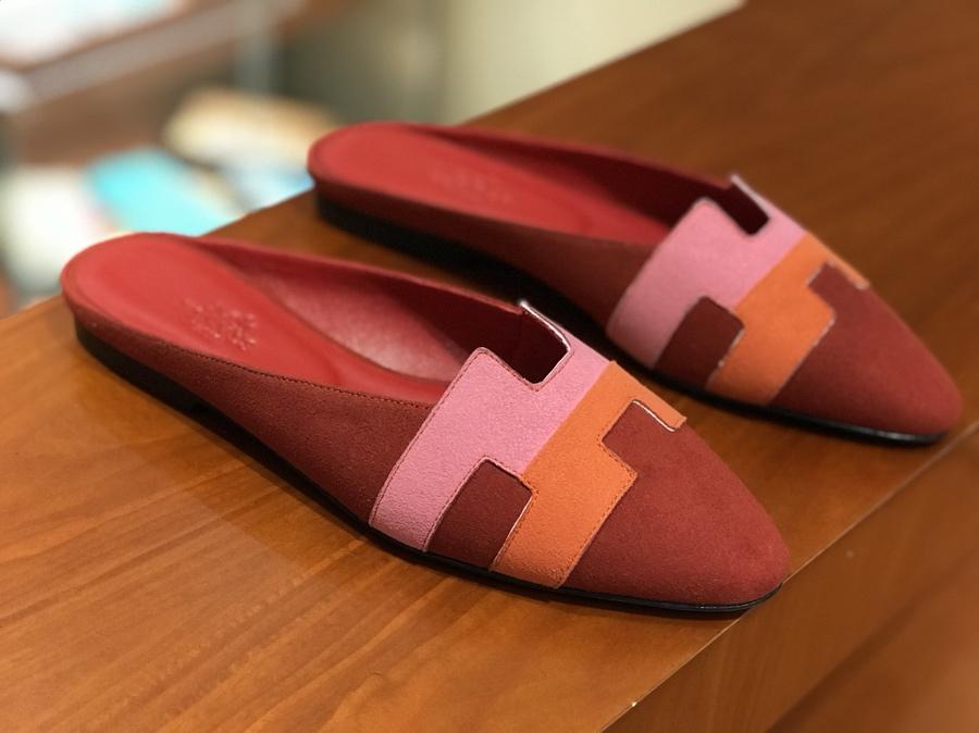 秋冬新款麂皮 Chamois Leather 拼色款 女士平底鞋  中国红