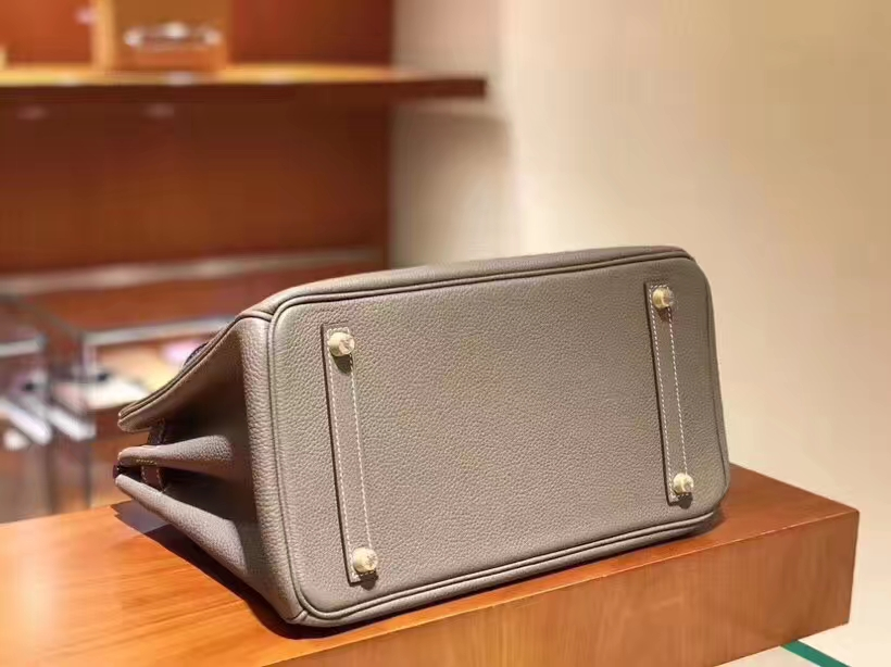 爱马仕 HERMES 铂金包 Birkin 25cm 30cm 大象灰 配全套专柜原版包装 全球发售