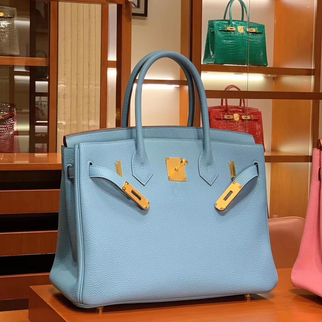 爱马仕 HERMES 铂金包 Birkin 25cm 30cm 马卡龙 配全套专柜原版包装 全球发售