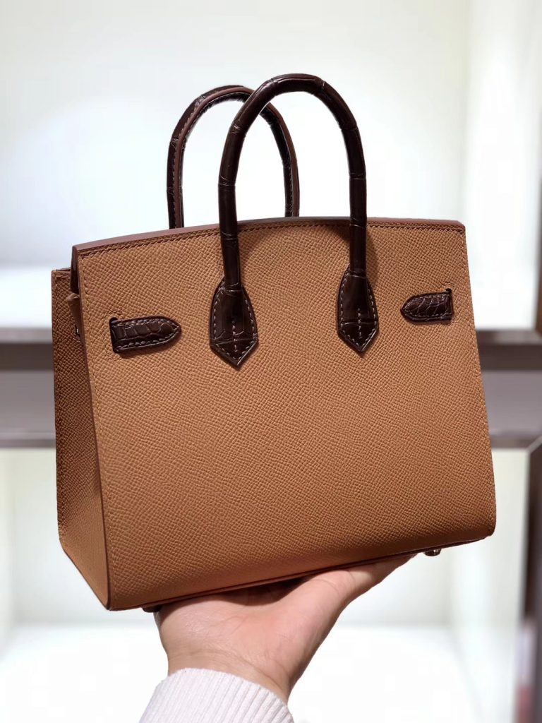 Hermès 限量版小房子20cm 外缝 精致细腻 稀少珍贵