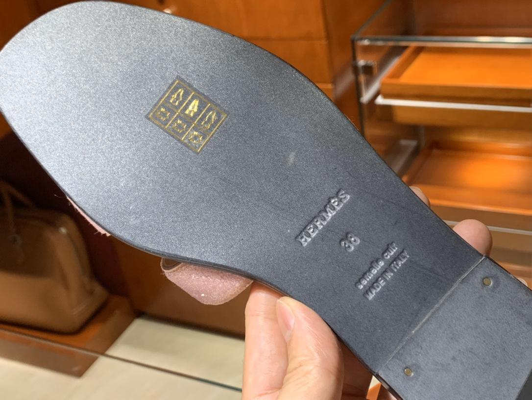 H新款水钻款拖鞋 高端订制独家品质 平跟35~41 中跟35~41(跟高5CM)