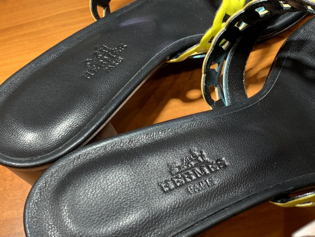 HMS Nappa皮革凉鞋 新款中跟Ajaccio凉鞋彩色 码数:35~41正常码数码数不调换