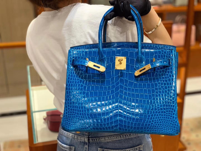 现货 BK 30 伊兹密尔蓝 又是一枚极品 喜欢鳄鱼好品相的随便入 收藏级精品